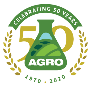 AGRO Anniversary Logo