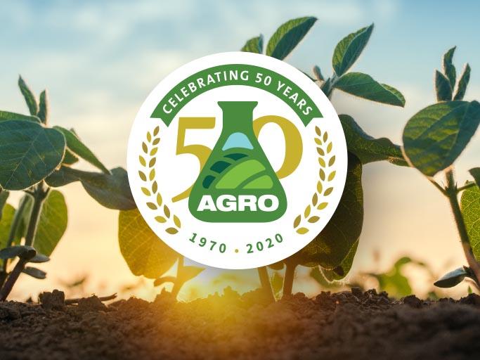 AGRO celebrates 50thanniversary virtually