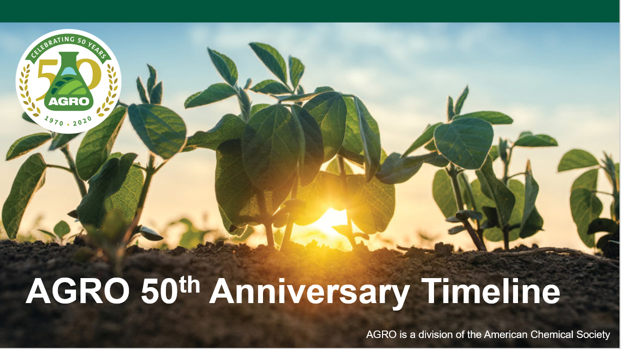 AGRO 50th Anniversary Timeline Now Available For Viewing