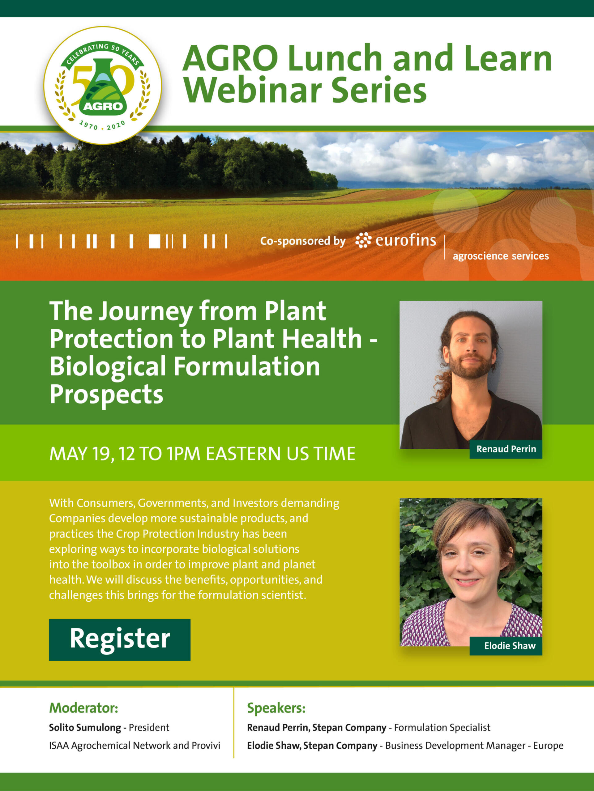The Journey From Plant Protection To Plant Health – Biological Formulation Prospects